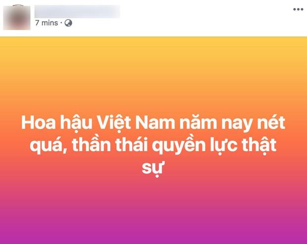 Vừa đăng quang, tân Hoa hậu Việt Nam Trần Tiểu Vy nhận được cơn mưa lời khen từ dân mạng - Ảnh 7.