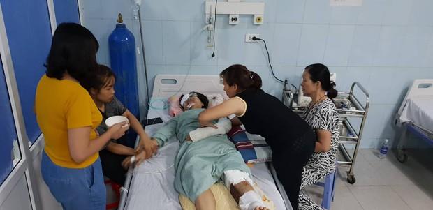 """Nước mắt của người vợ có chồng gặp tai nạn thảm khốc ở Lai Châu: """"Hy vọng một phép màu để anh ấy được sống"""" - Ảnh 4."""