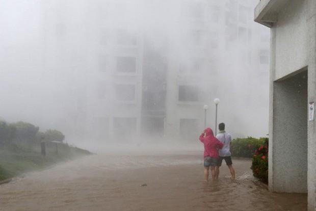 Bão Mangkhut xô nghiêng nhà cửa, người già ở Hồng Kông quyết không sơ tán - Ảnh 7.
