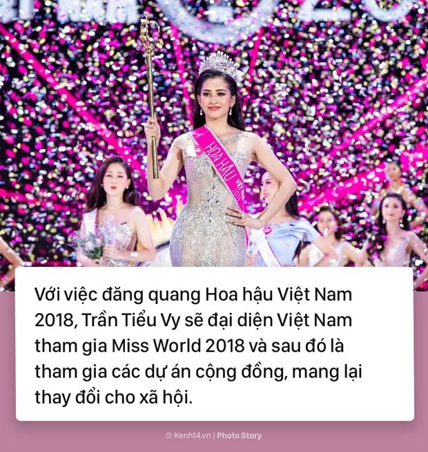 Trần Tiểu Vy Hoa hậu Việt Nam 2018: Những điều ấn tượng về Tân hoa hậu - Ảnh 11.