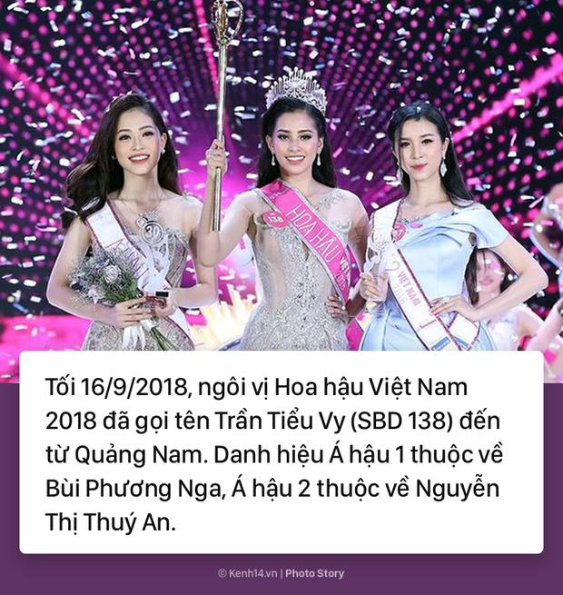 Trần Tiểu Vy Hoa hậu Việt Nam 2018: Những điều ấn tượng về Tân hoa hậu - Ảnh 1.