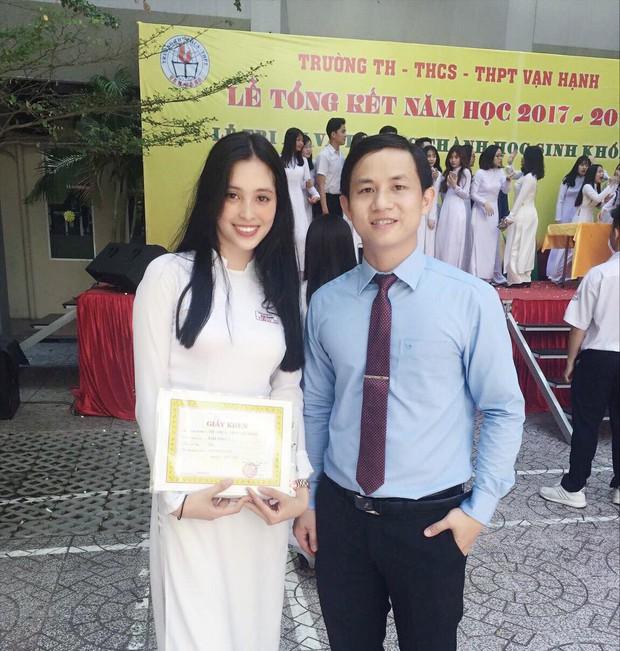 Những hình ảnh đáng yêu thời học sinh ngố tàu của tân Hoa hậu Việt Nam 2018 - Trần Tiểu Vy - Ảnh 3.