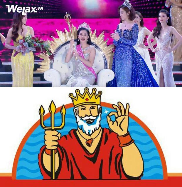 Vẫn những câu hỏi nhỏ: chiếc quyền trượng của Tân Hoa hậu Việt Nam 2018 giống cái gì? - Ảnh 6.