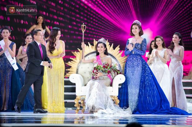 Vừa đăng quang, tân Hoa hậu Việt Nam Trần Tiểu Vy nhận được cơn mưa lời khen từ dân mạng - Ảnh 2.