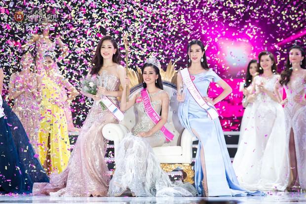 Vừa đăng quang, tân Hoa hậu Việt Nam Trần Tiểu Vy nhận được cơn mưa lời khen từ dân mạng - Ảnh 4.