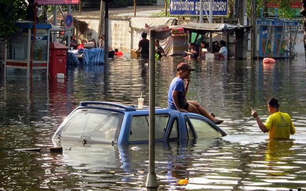 Bão Mangkhut có thể gây ngập lụt tại 8 tỉnh của Thái Lan - Ảnh 1.