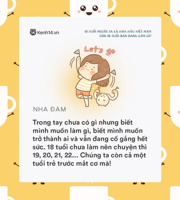 18 tuổi người ta đã là Hoa hậu Việt Nam, còn tuổi 18 của bạn thì sao? - Ảnh 3.