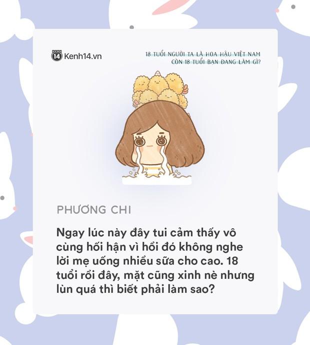 18 tuổi người ta đã là Hoa hậu Việt Nam, còn tuổi 18 của bạn thì sao? - Ảnh 5.