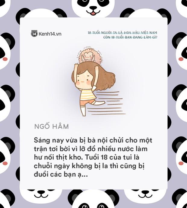 18 tuổi người ta đã là Hoa hậu Việt Nam, còn tuổi 18 của bạn thì sao? - Ảnh 7.