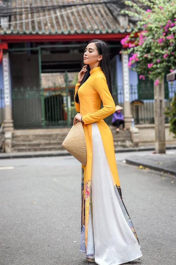 Trần Tiểu Vy đi thi hoa hậu vì được Hoa hậu Ngọc Hân thuyết phục - Ảnh 2.