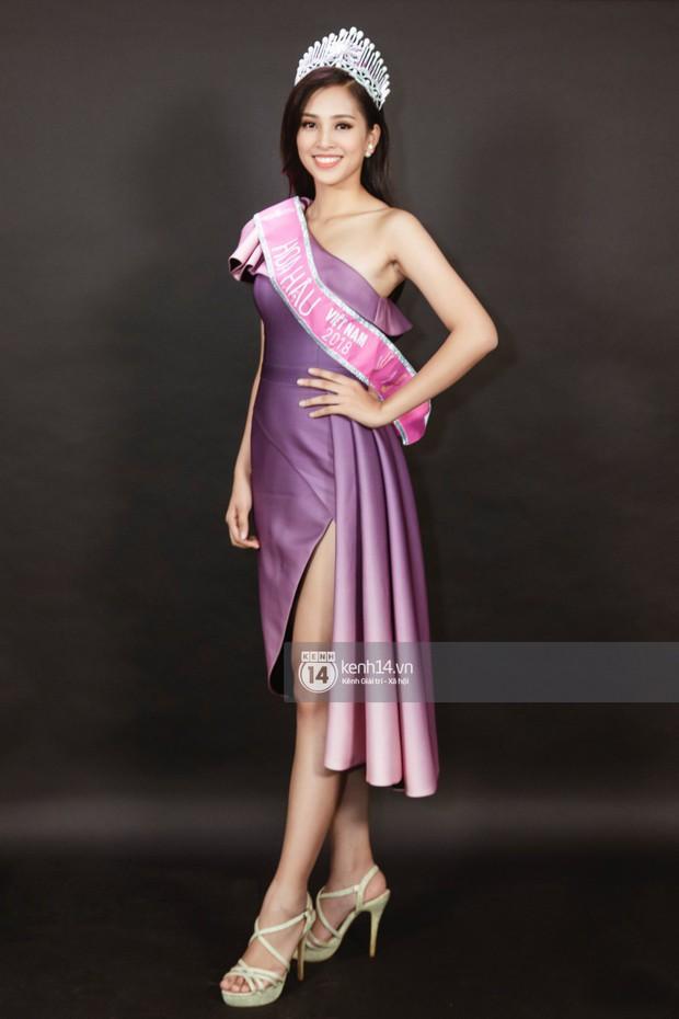 Ngắm Hoa hậu Trần Tiểu Vy sắc sảo bên cạnh Á hậu Phương Nga và Thúy An - Ảnh 5.