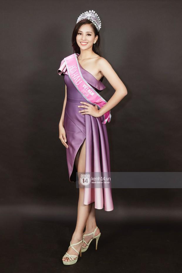 Ngắm Hoa hậu Trần Tiểu Vy sắc sảo bên cạnh Á hậu Phương Nga và Thúy An - Ảnh 7.