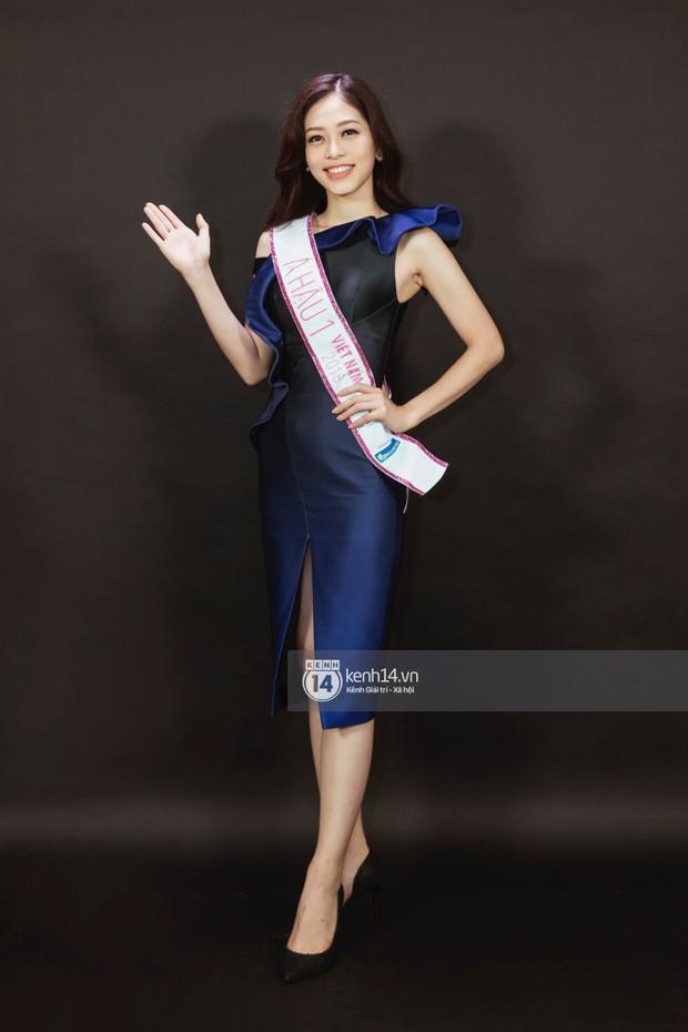 Ngắm Hoa hậu Trần Tiểu Vy sắc sảo bên cạnh Á hậu Phương Nga và Thúy An - Ảnh 10.