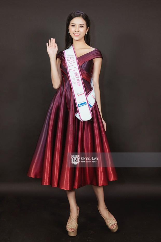 Ngắm Hoa hậu Trần Tiểu Vy sắc sảo bên cạnh Á hậu Phương Nga và Thúy An - Ảnh 12.