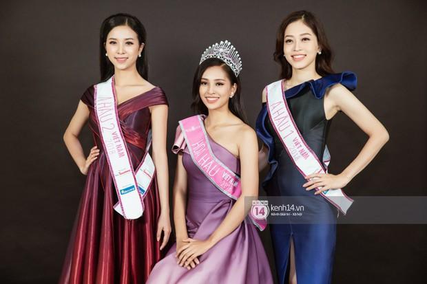 Ngắm Hoa hậu Trần Tiểu Vy sắc sảo bên cạnh Á hậu Phương Nga và Thúy An - Ảnh 15.