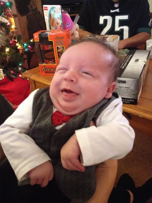 Chùm ảnh: Những em bé sơ sinh có gương mặt già như quả cà, một nhóc còn giống hệt Gordon Ramsay - Ảnh 19.