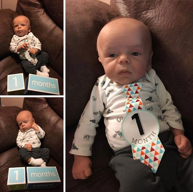 Chùm ảnh: Những em bé sơ sinh có gương mặt già như quả cà, một nhóc còn giống hệt Gordon Ramsay - Ảnh 16.