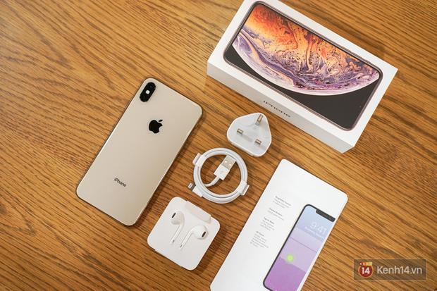 Cận cảnh iPhone XS Max 256GB Gold tuồn ra trước giờ bán, giá khởi điểm 33,9 triệu đồng, sẵn sàng xách về Việt Nam ngay đêm nay - Ảnh 4.