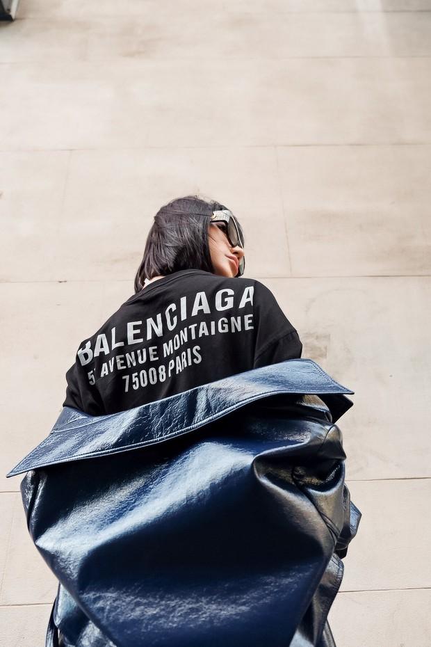 Bay show tới tấp tại London Fashion Week, Jolie Nguyễn vẫn giữ được phong độ thời trang trên hàng ghế đầu - Ảnh 5.