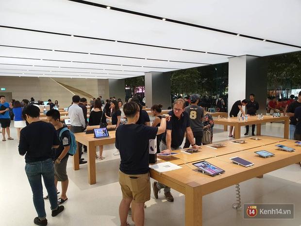 Mặc kệ trời mưa to, hàng dài dân buôn Việt vẫn xếp kín trước cửa Apple Store chờ mua iPhone XS mới - Ảnh 10.