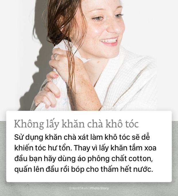 Khắc phục 90% tóc hư tổn chỉ cần tuân thủ những nguyên tắc thường ngày sau - Ảnh 1.