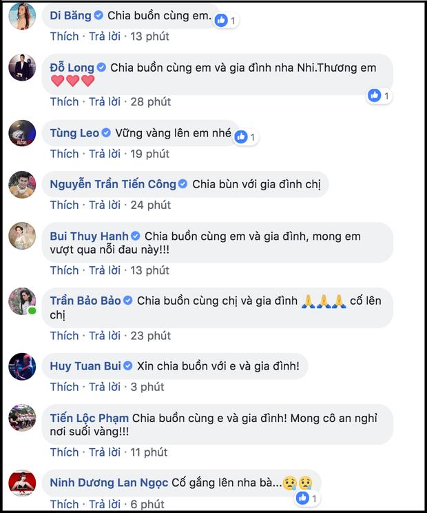 Loạt sao Việt gửi lời chia buồn khi biết tin mẹ của Yaya Trương Nhi qua đời vì bệnh ung thư - Ảnh 3.
