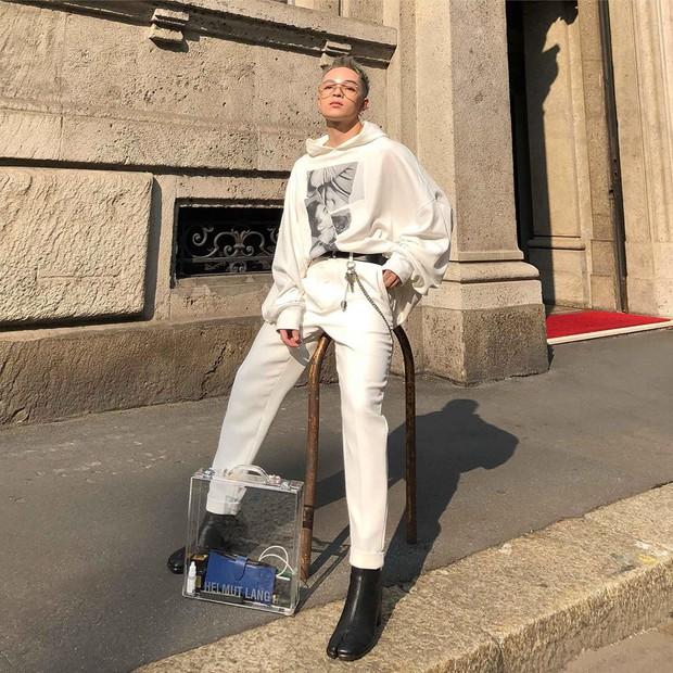 Vốn nhẵn mặt tại fashion week, lần này Kelbin Lei lại ngồi hàng ghế đầu của Moschino và Armani - Ảnh 7.