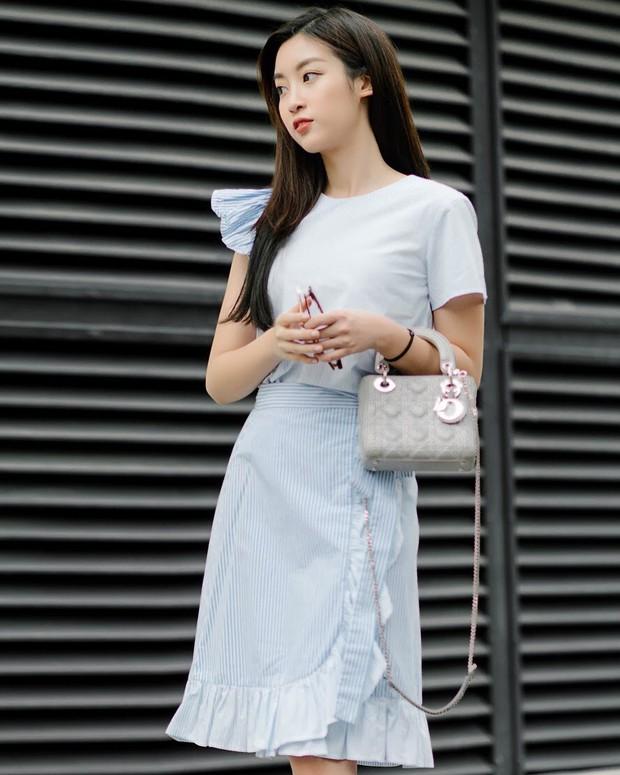 Nhiều Hoa hậu có nguyên tủ đồ hiệu tiền tỷ, Đỗ Mỹ Linh chỉ khiêm tốn mua 7 chiếc túi, dùng đi dùng lại suốt mấy năm qua - Ảnh 3.