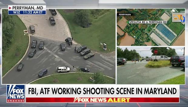 Nổ súng tại Trung tâm phân phối hàng hoá thuộc bang Maryland làm nhiều người thiệt mạng - Ảnh 1.