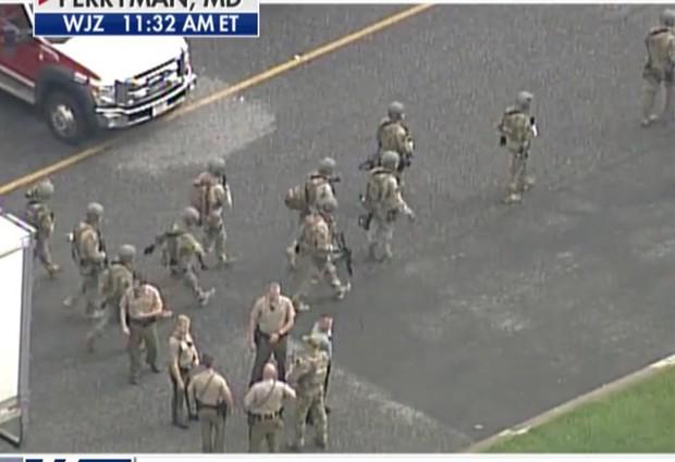 Nổ súng tại Trung tâm phân phối hàng hoá thuộc bang Maryland làm nhiều người thiệt mạng - Ảnh 2.