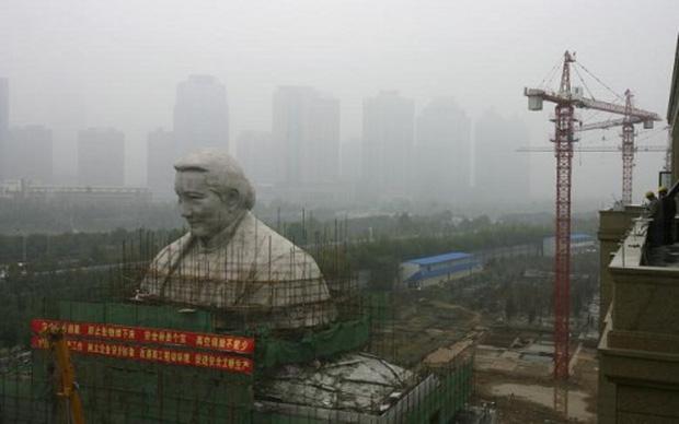 Trung Quốc: Tượng Khổng Tử lớn nhất thế giới chuẩn bị được khánh thành - Ảnh 2.