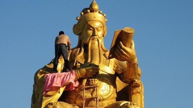 Trung Quốc: Tượng Khổng Tử lớn nhất thế giới chuẩn bị được khánh thành - Ảnh 3.