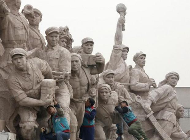 Trung Quốc: Tượng Khổng Tử lớn nhất thế giới chuẩn bị được khánh thành - Ảnh 6.