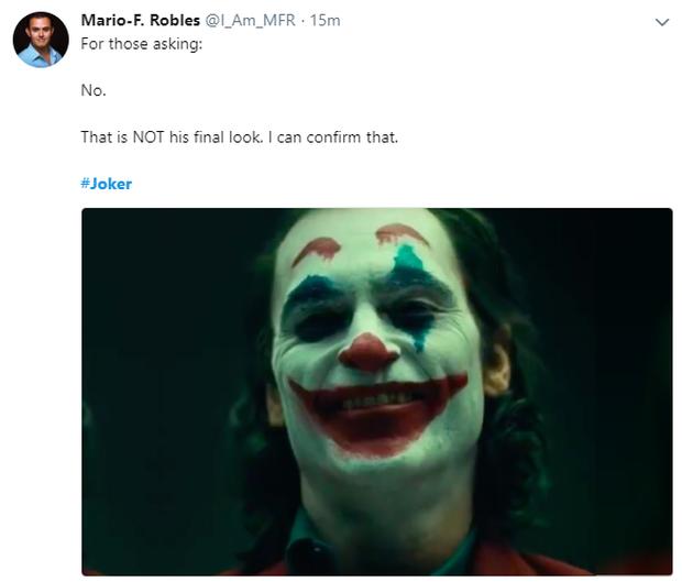 Tung tạo hình thường dân chưa lâu, Joker mới đã hiện nguyên hình gã hề khiến fan náo loạn - Ảnh 11.