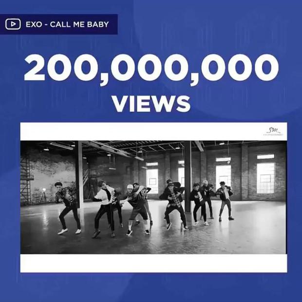 GOT7 đạt 200 triệu view trước nhưng EXO mới là nhóm có nhiều MV vượt ngưỡng này hơn - Ảnh 1.