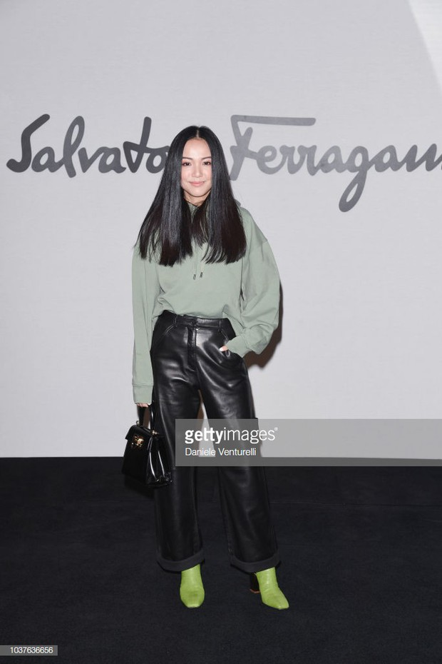 Sau khi bị chê già liên tiếp, Krystal chọn đồ đỏ nổi bật, lấn át Côn Lăng tại Milan Fashion Week - Ảnh 8.