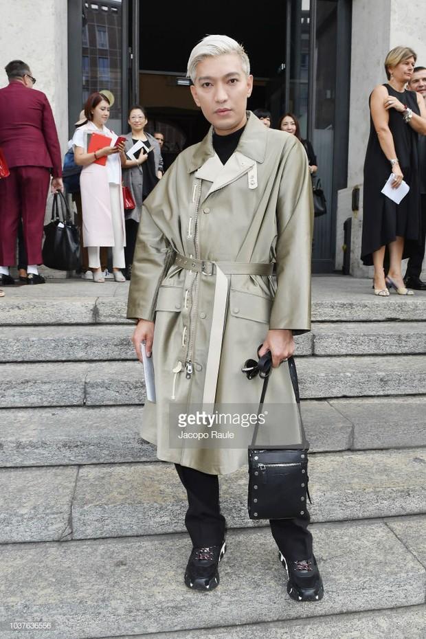 Sau khi bị chê già liên tiếp, Krystal chọn đồ đỏ nổi bật, lấn át Côn Lăng tại Milan Fashion Week - Ảnh 10.