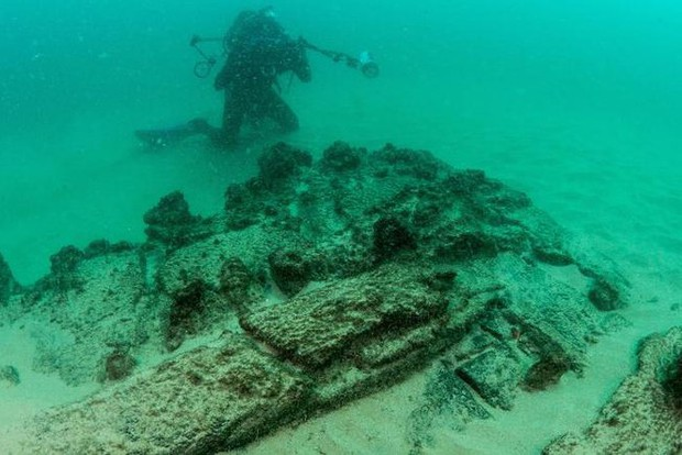 Phát hiện xác tàu đắm hàng thế kỷ ngoài khơi Bồ Đào Nha - Ảnh 1.