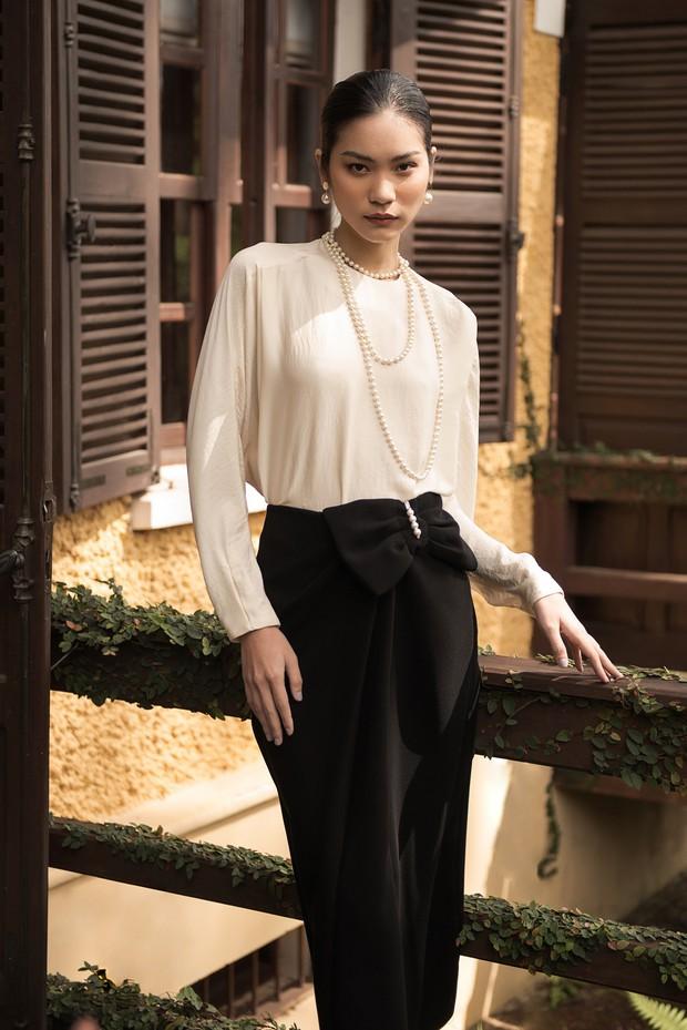 "Kim Dung Next Top đầy ma mị trong BST ""Le Jardin Sauvage"" của DECOS - Ảnh 1."
