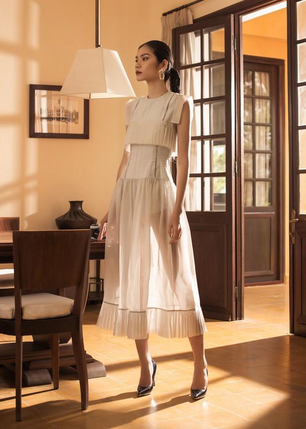 "Kim Dung Next Top đầy ma mị trong BST ""Le Jardin Sauvage"" của DECOS - Ảnh 3."