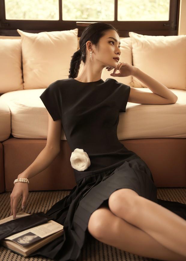 "Kim Dung Next Top đầy ma mị trong BST ""Le Jardin Sauvage"" của DECOS - Ảnh 5."