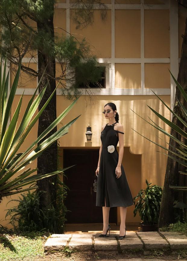 "Kim Dung Next Top đầy ma mị trong BST ""Le Jardin Sauvage"" của DECOS - Ảnh 6."