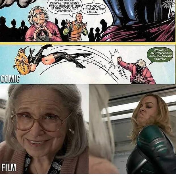 Đã có đáp án cho lý do đấm người già của nữ siêu anh hùng Captain Marvel  - Ảnh 4.