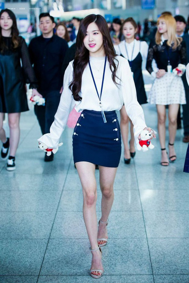 Top mỹ nhân Kpop gầy nhất lịch sử Kpop: Cô mảnh khảnh nhất chỉ 37kg, 2 nữ thần Black Pink và SNSD đều có mặt - Ảnh 7.