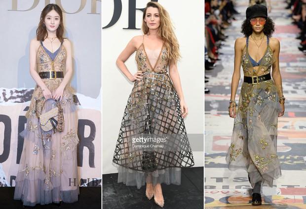 """Cùng sửa váy cho kín đáo: Triệu Lệ Dĩnh như diện hàng Taobao, Blake Lively lại đẳng cấp khác """"một trời một vực"""" - Ảnh 8."""