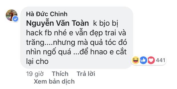 Văn Toàn đổi màu tóc: Hà Đức Chinh, Đình Trọng, Hùng Dũng chê tơi tả - Ảnh 6.
