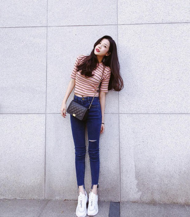 15 set đồ đến từ street style Châu Á sẽ cho bạn phong cách chuẩn quý cô thanh lịch - Ảnh 8.