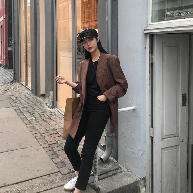 15 set đồ đến từ street style Châu Á sẽ cho bạn phong cách chuẩn quý cô thanh lịch - Ảnh 9.