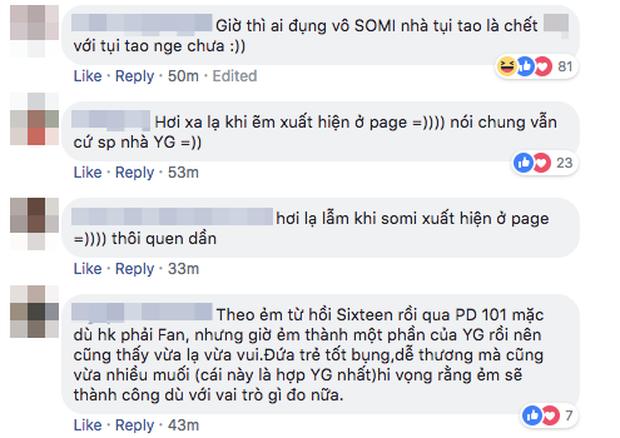 Nhìn thấy Jeon Somi trên các fanpage của nhà YG, fan phản ứng: lạ lẫm quá, chưa thích nghi kịp - Ảnh 3.