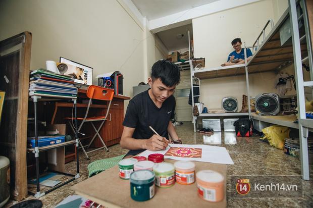 Khám phá ký túc xá của ngôi trường có kiến trúc đẹp nhất nhì Việt Nam, nơi sinh viên ăn-ngủ-sinh hoạt cùng bảng màu, giá vẽ - Ảnh 6.